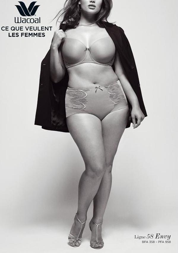 lingerie wacoal big beauty envy