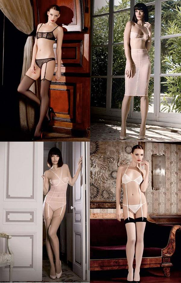 lingerie Maison Close ensembles porte jarretelles