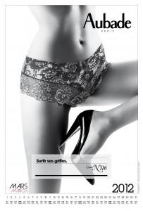 calendrier aubade 2012 mars