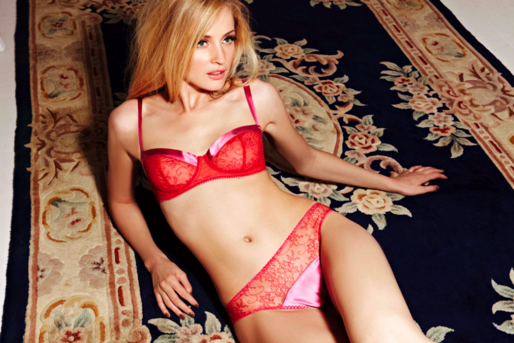 Fleur Of England lingerie rouge
