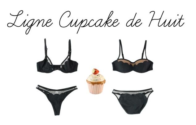 Ligne Cupcake de Huit lingerie