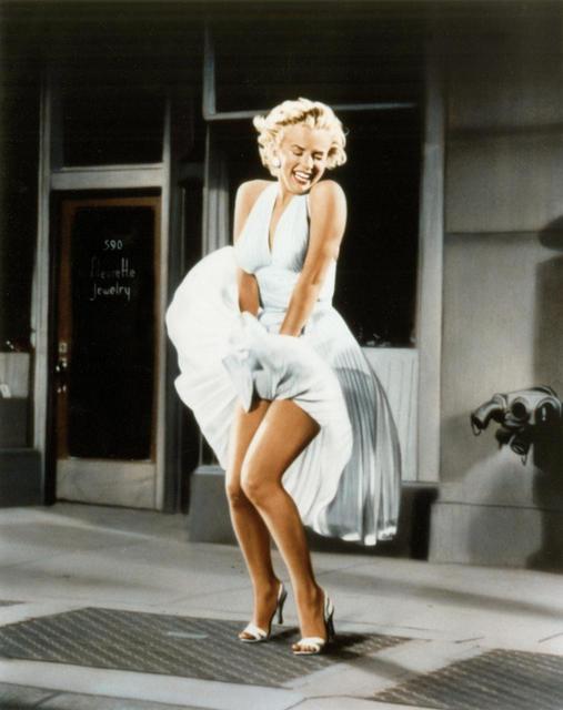 Les dessous célèbres : la petite culotte blanche de Marilyn Monroe