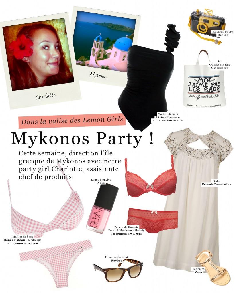 Valise lingerie des Lemon Girls