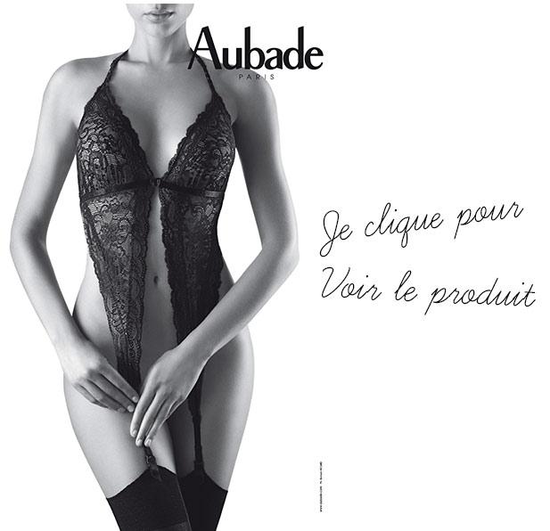lingerie sexy Aubade