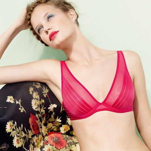 Ma lingerie rose !
