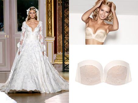 soutien gorge special robe de mariee