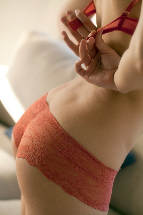Ma lingerie par couleur : la lingerie orange