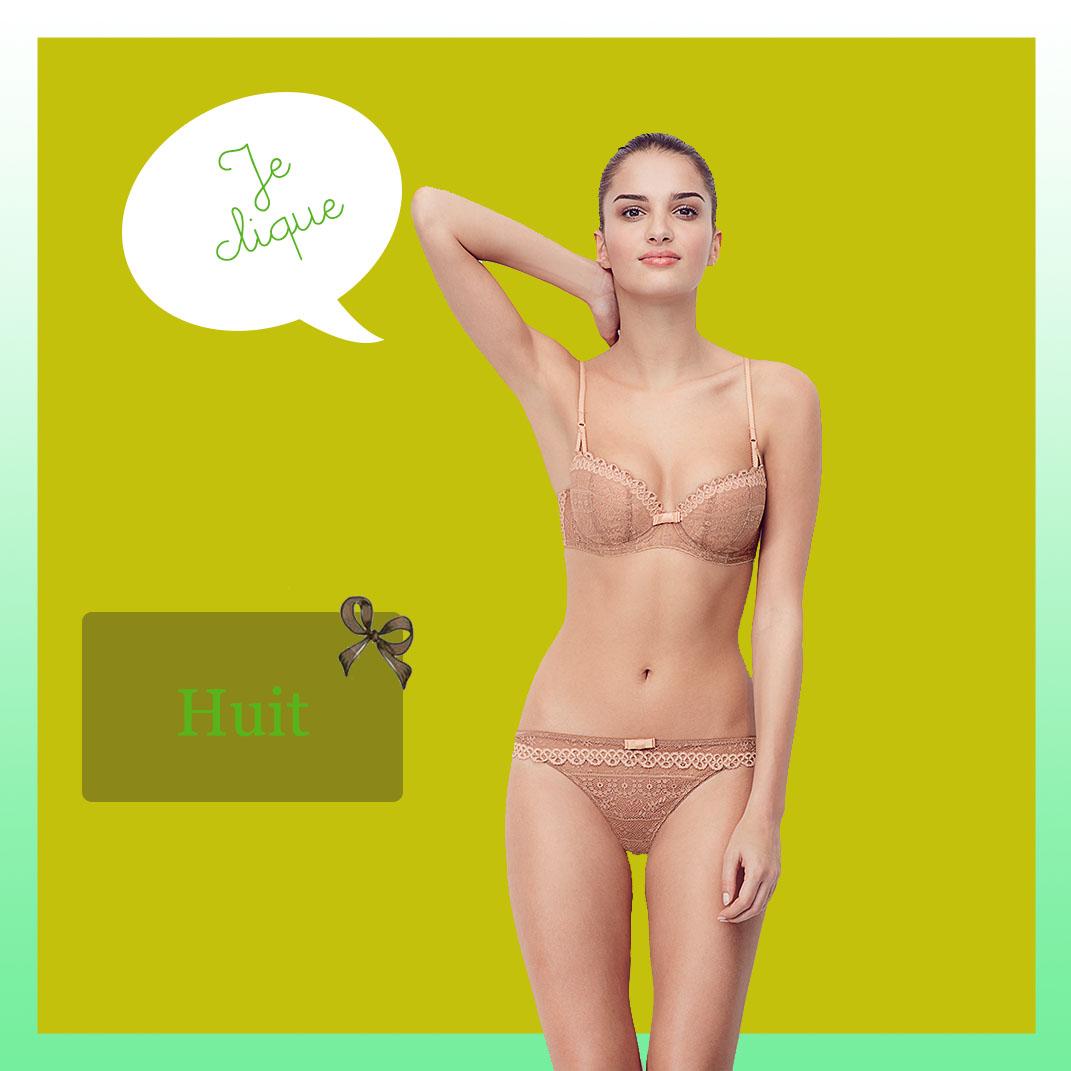 Parure lingerie Huit