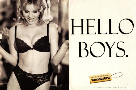 Publicités lingerie Wonderbra