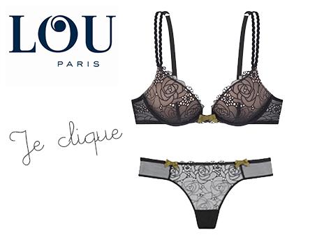 Marque de lingerie LOU ligne Parisienne