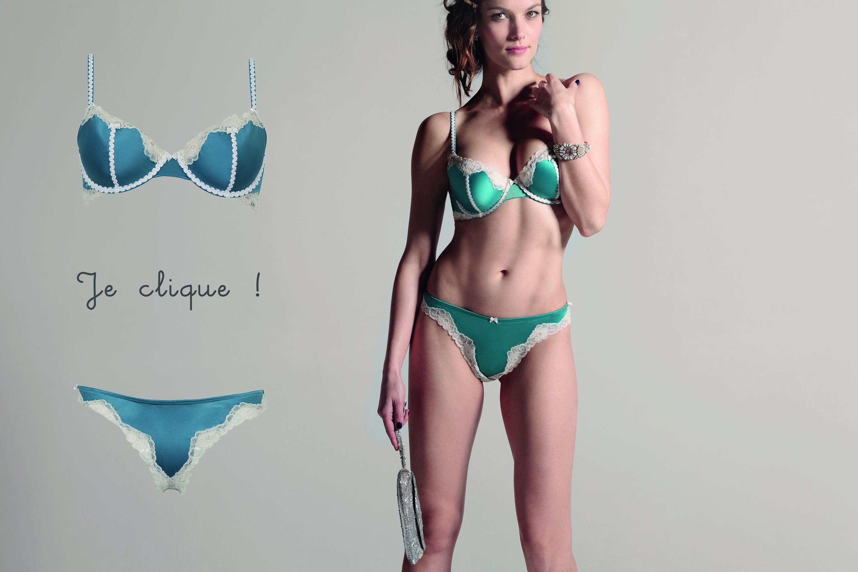 La Précieuse de la marque Rosy tendances lingerie