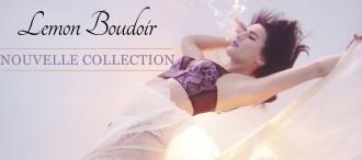 Nouvelle Collection Lemon Boudoir