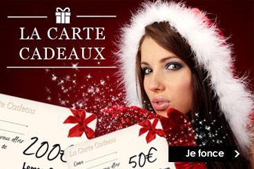 Boutique de Noël Les Cartes Cadeaux Lemon Curve