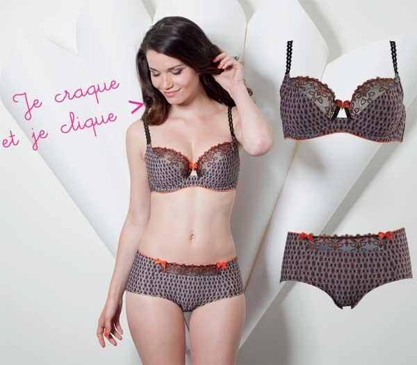 nouveautés lingerie Tourmaline par Sans Complexe