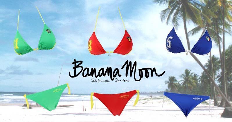 Maillot de bain Banana Moon pour la Coupe du Monde de Football