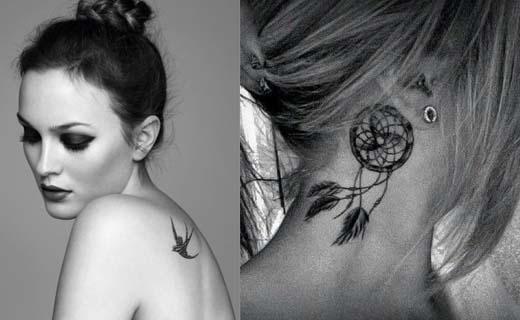 lingerie tatouage