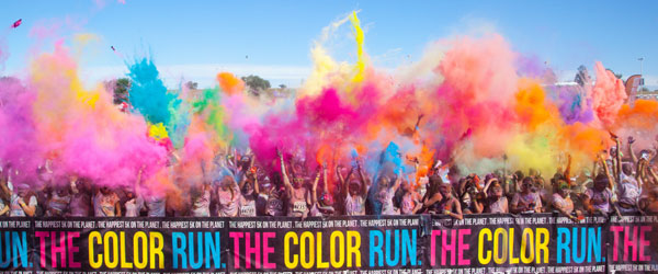 Also known as The Happiest 5k on the Planet, we love chucking paint and making people smile. With events in more than 50 countries, The Color Run is on almost every single continent on EARTH!