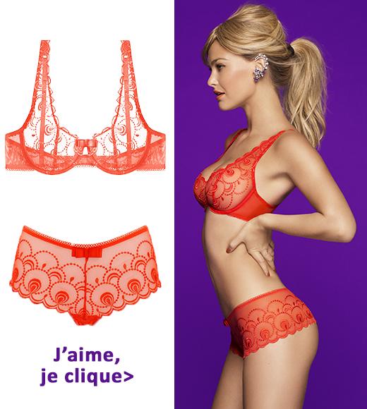 lingerie orange