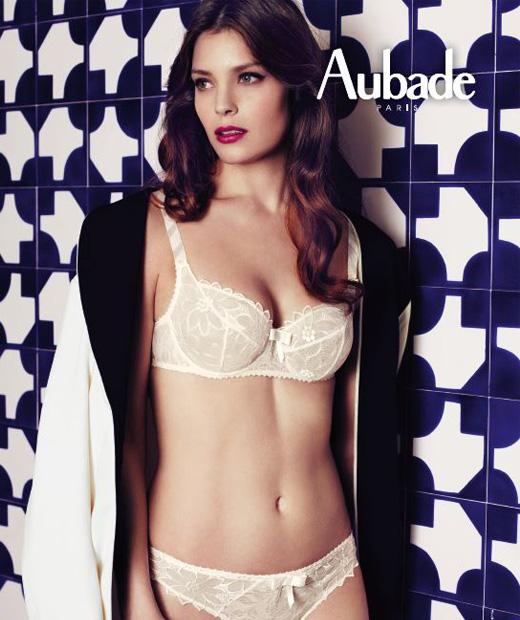 Collection automne-hiver 2014 de la marque française Aubade élue meilleure marque de lingerie par les internautes