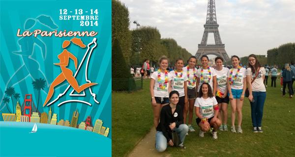 L'équipe Lemon Curve à la parisienne 2014