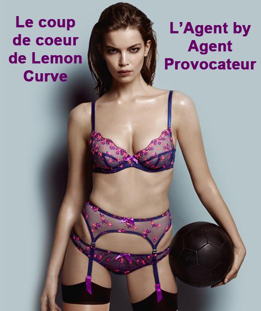 L'Agent by Agent Provocateur est le coup de coeur de Lemon Curve pour la première éditions des Lingerie Awards
