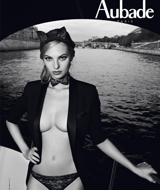 Les Lingerie Awards ont récompensé le côté séduction osée de la marque Aubade