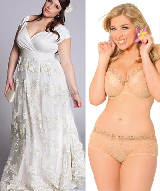 lingerie mariage nude pour un dcollet parfait - Soutien Gorge Bandeau Grande Taille Mariage