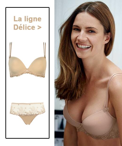 Ligne Délice de Simone Pérèle en coloris beige