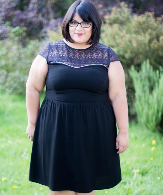 Letizia du blog mode Letilor en robe noire
