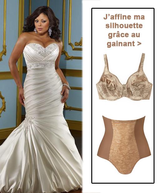associer lingerie mariage et formes pulpeuses avec sa robe de mari e. Black Bedroom Furniture Sets. Home Design Ideas