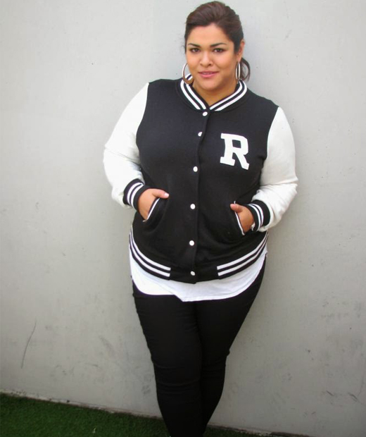 Look sportwear de Sihem du blog mode Curvy Mood