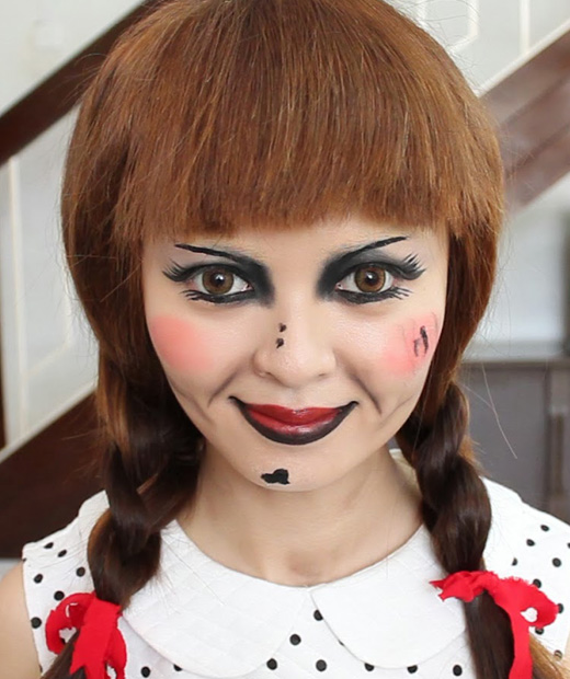 Maquillage halloween fille - Maquillage halloween simple fille ...