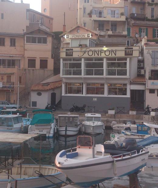 Restaurant Chez Fonfon à Marseille