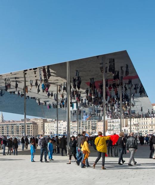 L'ombrière du Vieux-Port de Marseille