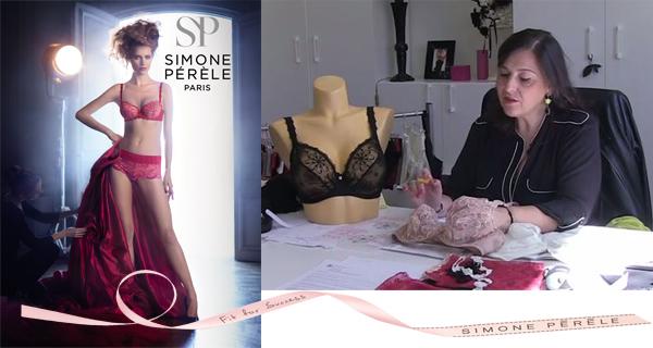 Simone Pérèle, marque française de lingerie haut de gamme
