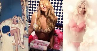 Les stars se montrent en lingerie sur Instagram