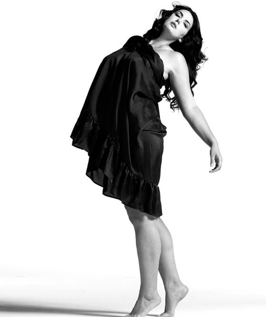 Johanna Dray, mannequin grande taille française