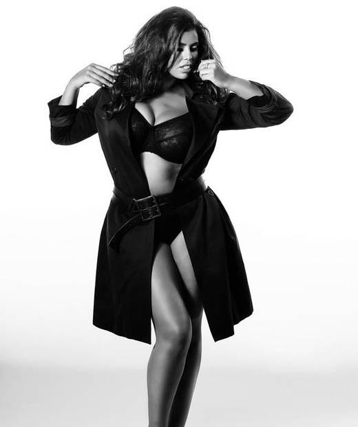 Kaoutar Mouhim est une mannequin lingerie grande taille française