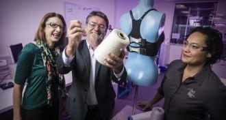 Le soutien-gorge bionique est une innovation australienne qui grâce à des fibres et des capteurs offre un maintien optimal pour votre poitrine