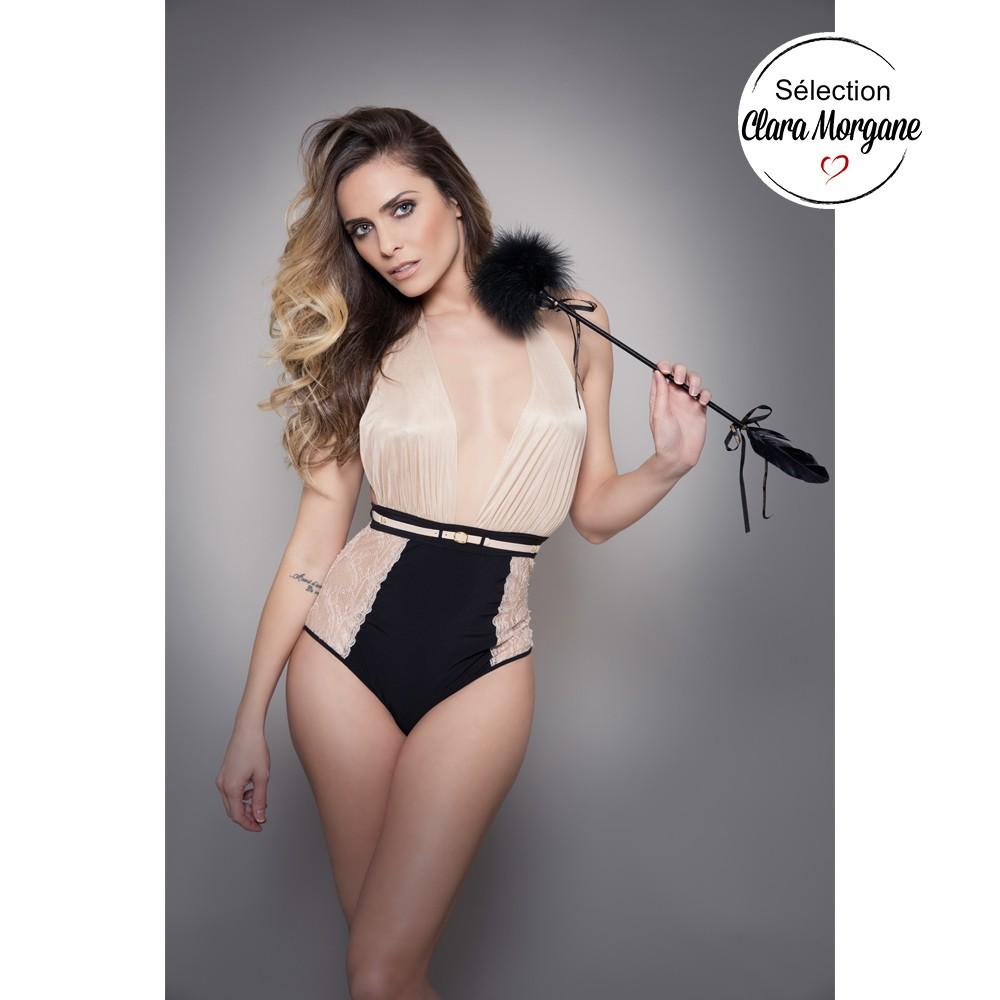 Body Culotte Clara Morgane la Cavalière marque de lingerie Maison Close