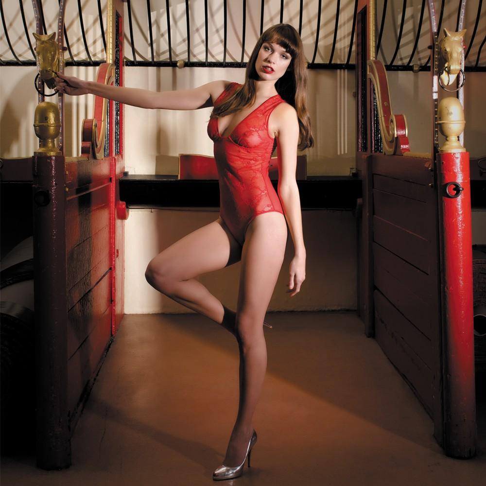 Body marque de lingerie Maison Close Chaperon Rouge