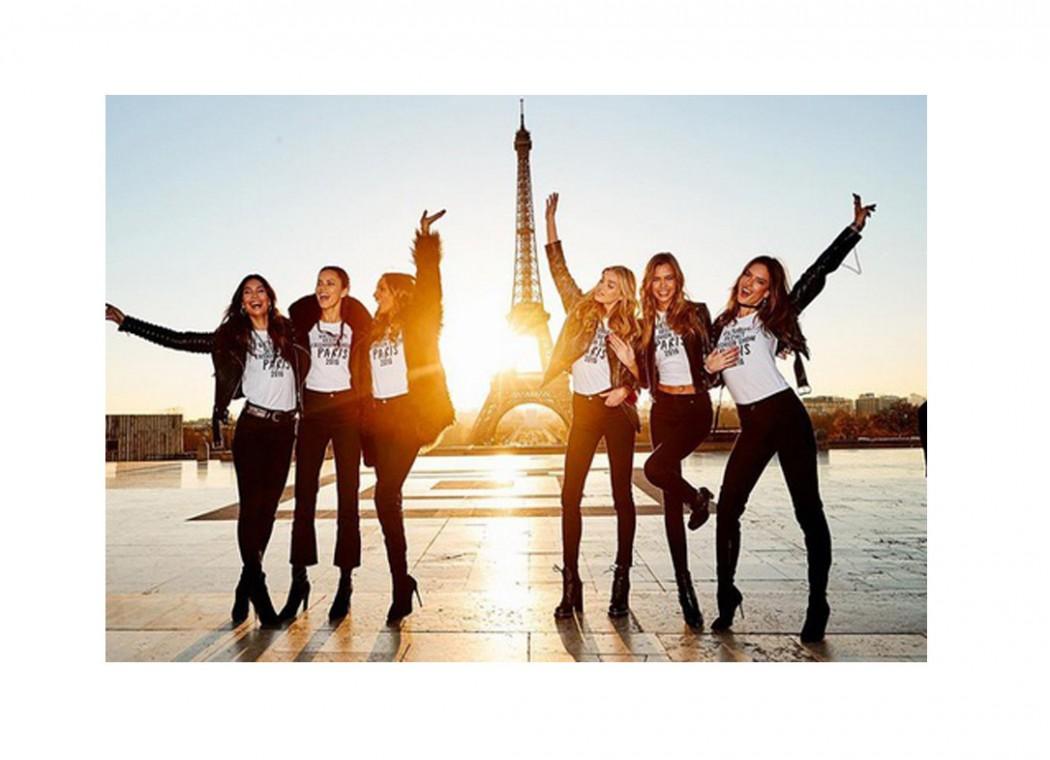 Le Show Victoria's Secret a eu lieu à Paris!