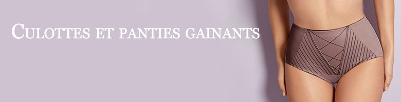 Culottes et panties gainants - Lemoncurve