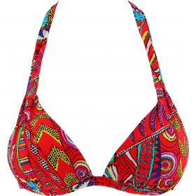 Soutien-Gorge Triangle Push-Up Multicolore Banana Moon - Triangles (maillots) - Maillots de bain triangles