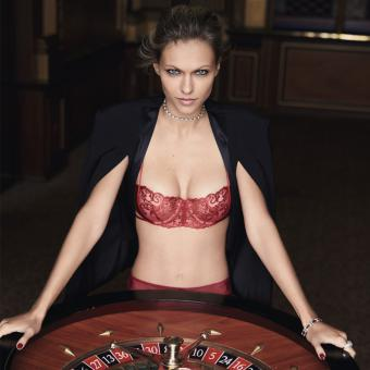 Soutien-gorge balconnet marron Luxe collection