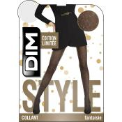 Collant en lurex noir Dim Chaussant - Collants - Collants