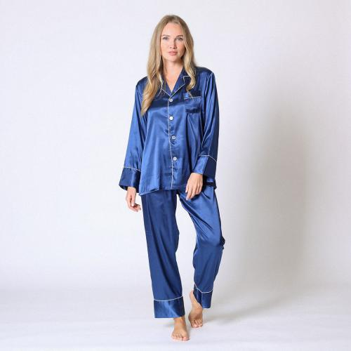Pyjama manches longues satin - Lingerie Midnight