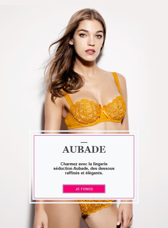 Découvrez la collection féminine et raffinée Aubade