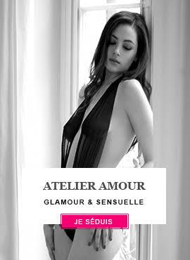Charmez avec la lingerie séduction Atelier Amour !