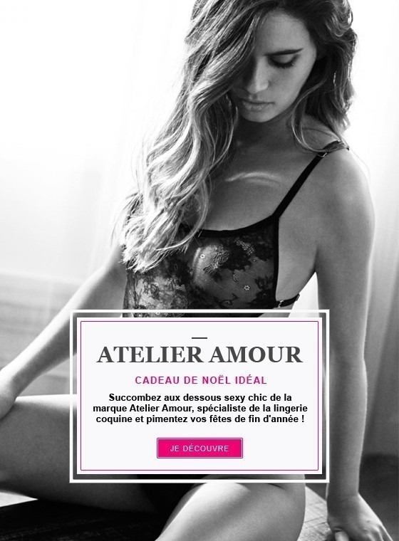 Atelier Amour : lingerie sexy chic !